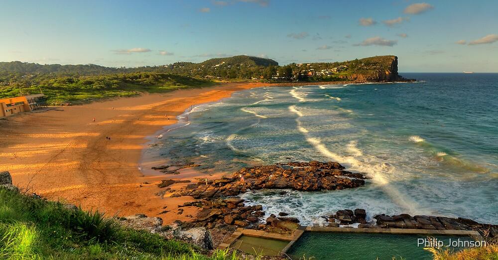 Avalon (Panoramic) - Avalon Beach, Sydney Australia - The HDR Experience by Philip Johnson