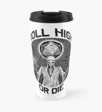 D20 Reaper - Roll High or Die d&d - Dungeons & Dragons Travel Mug