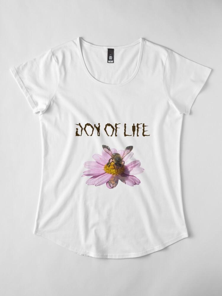 Alternative Ansicht von Joy of Life Premium Rundhals-Shirt