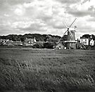 The windmill at Cley-Next-the-Sea, Norfolk, UK by Richard Flint