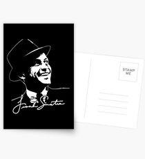 Frank Sinatra - Portrait and signature Postcards