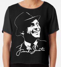 Blusa Frank Sinatra - Retrato y firma