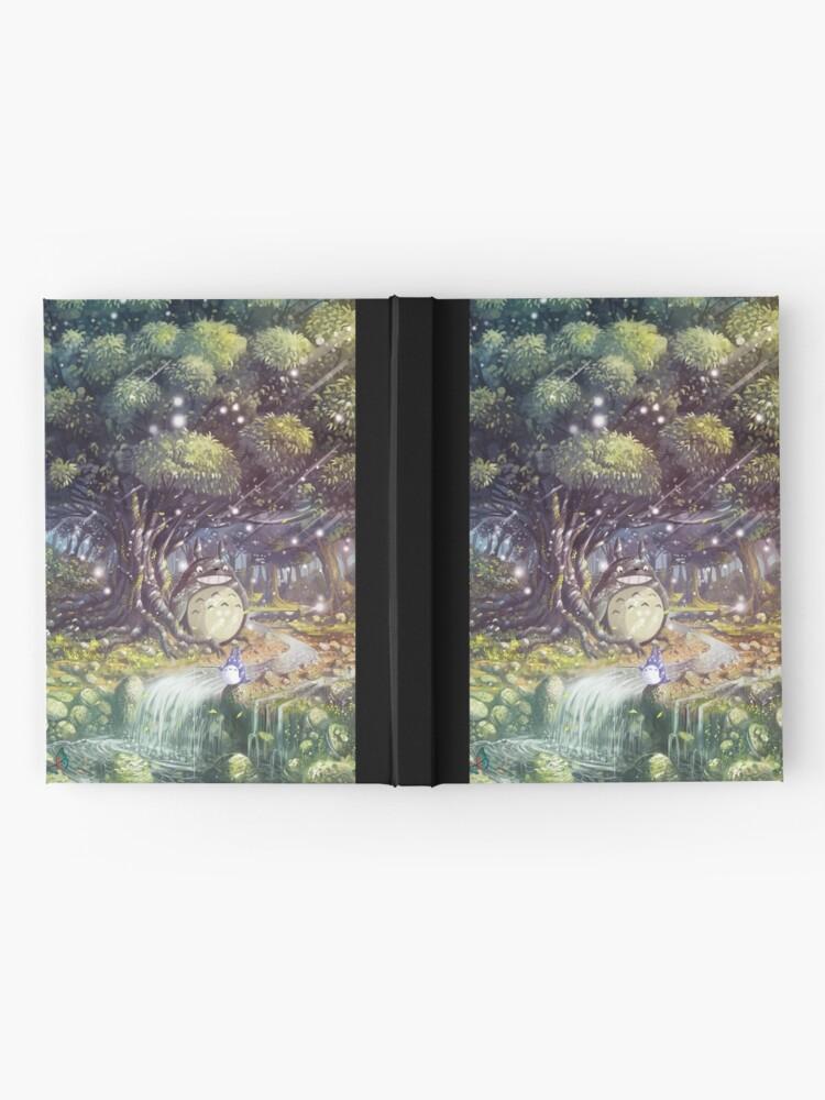 Vista alternativa de Cuaderno de tapa dura Totoro's Paradise