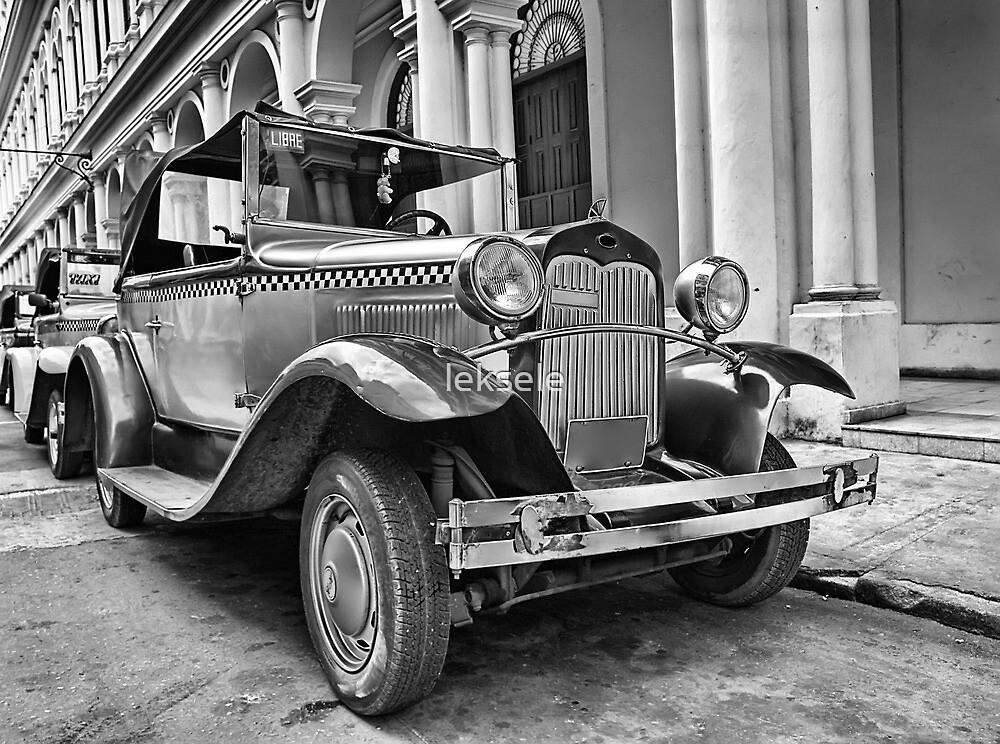 Old vintage car  by leksele