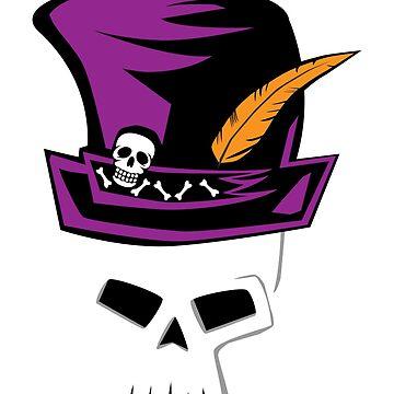 Mardi Gras Voodoo Skull by BrobocopPrime