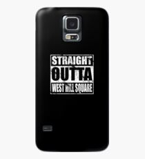 Straight Outta West Hill Square Case/Skin for Samsung Galaxy