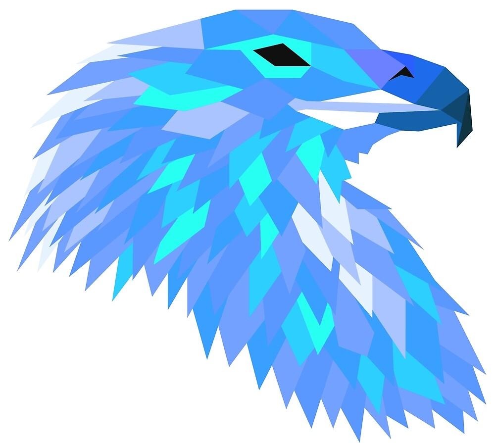 Shubie Blue Harris Hawk by GCShubie