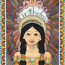 Pocahontas Birthday Card (2010) by Bridget Curry