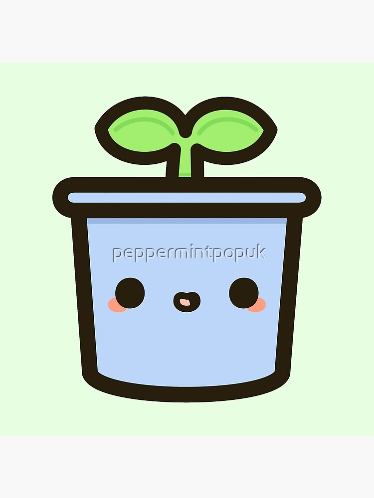 Cute sprout in pot by peppermintpopuk