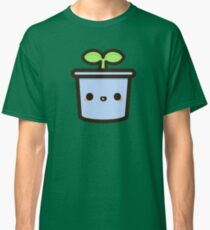 Cute sprout in pot Classic T-Shirt