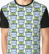 Cute sprout in pot Graphic T-Shirt