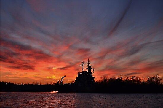 Last Sunset by Bob Sample