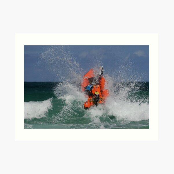 Anglesea heads out Art Print