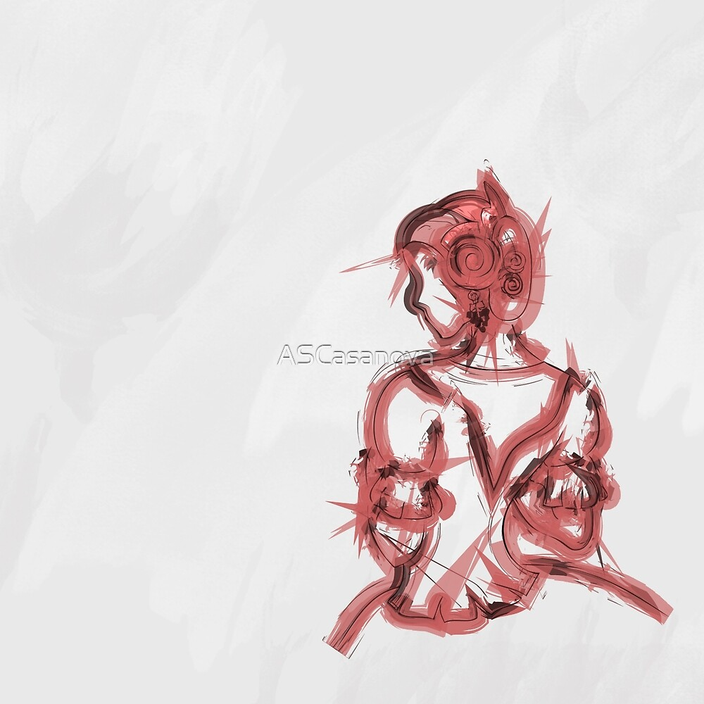 Fallera - red by ASCasanova