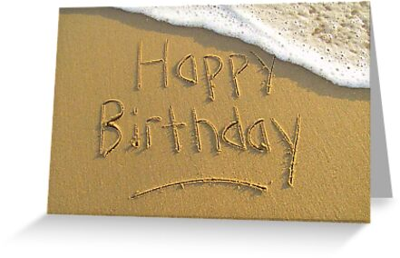 "Happy Birthday by Lenora ""Slinky"" Ruybalid"