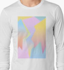 Abstract gradient Long Sleeve T-Shirt