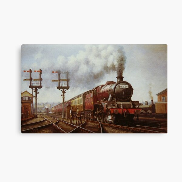 LMS Jubilee at Edge Hill Canvas Print