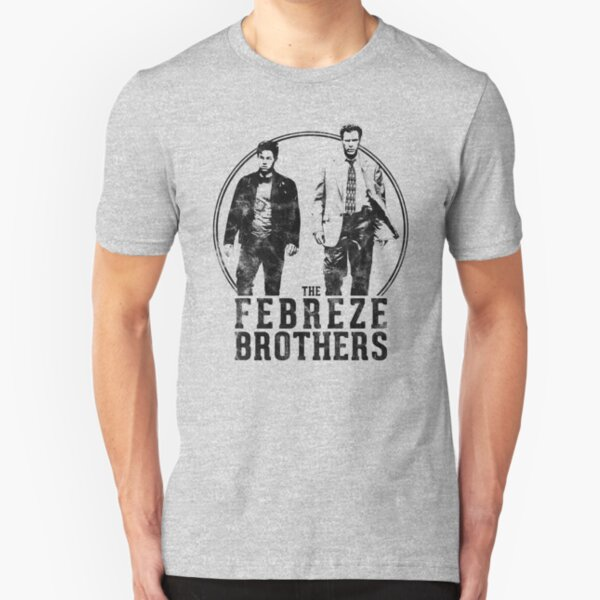 The Febreze Brothers - The Other Guys inspired design Slim Fit T-Shirt