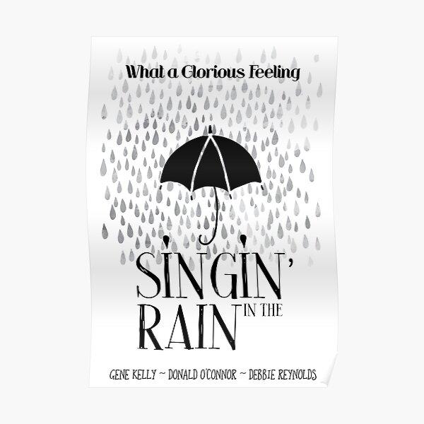 Singin' in the Rain Movie Poster Poster
