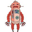 Red Robot by Judy Boyle