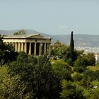 Continuous worship (Temple of Hephaestus, Athens) by Themis