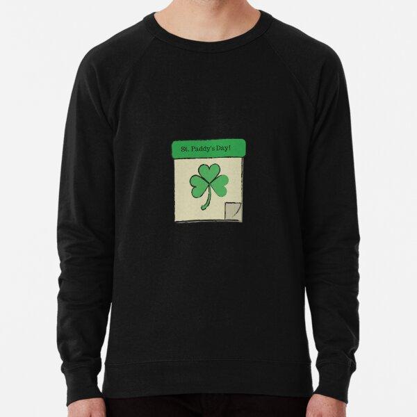 St. Paddy's Day- Calendar Lightweight Sweatshirt