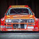 Lancia Delta Integrale Bergrennen von coolArtGermany