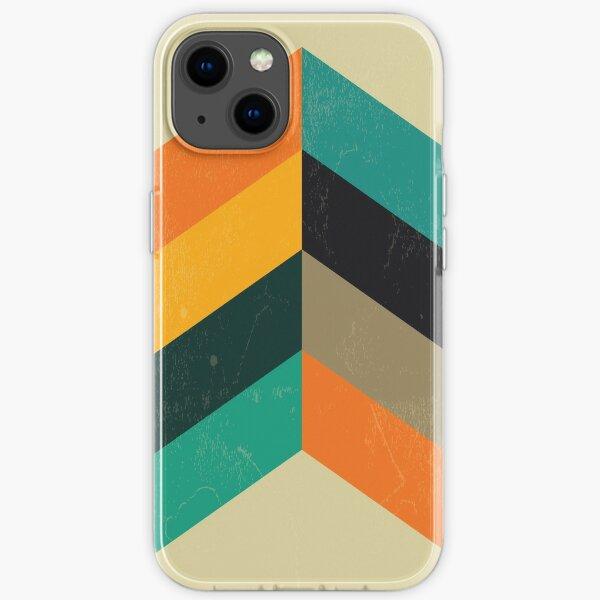 Mid Century Chevron Art iPhone Soft Case