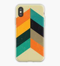 Mitte Jahrhundert Chevron Art iPhone-Hülle & Cover