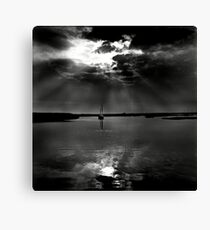 Summer evening light at Brancaster Staithe, Norfolk, UK Canvas Print