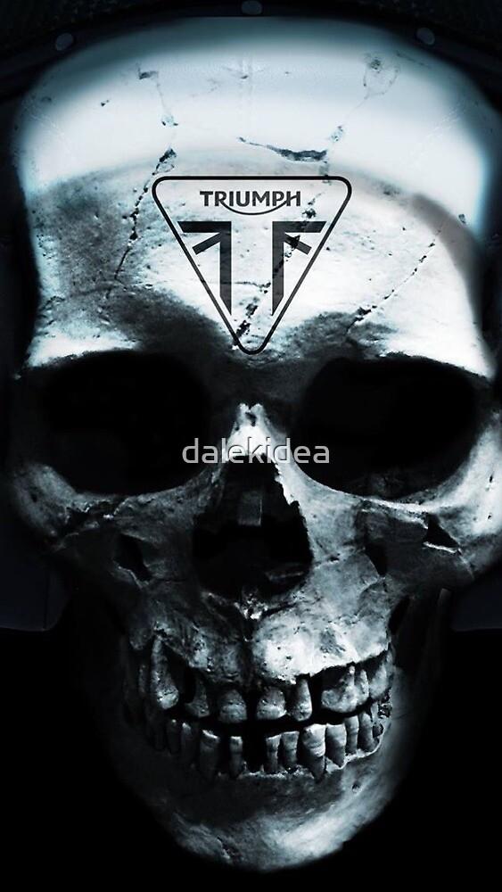 Triumph skull by dalekidea