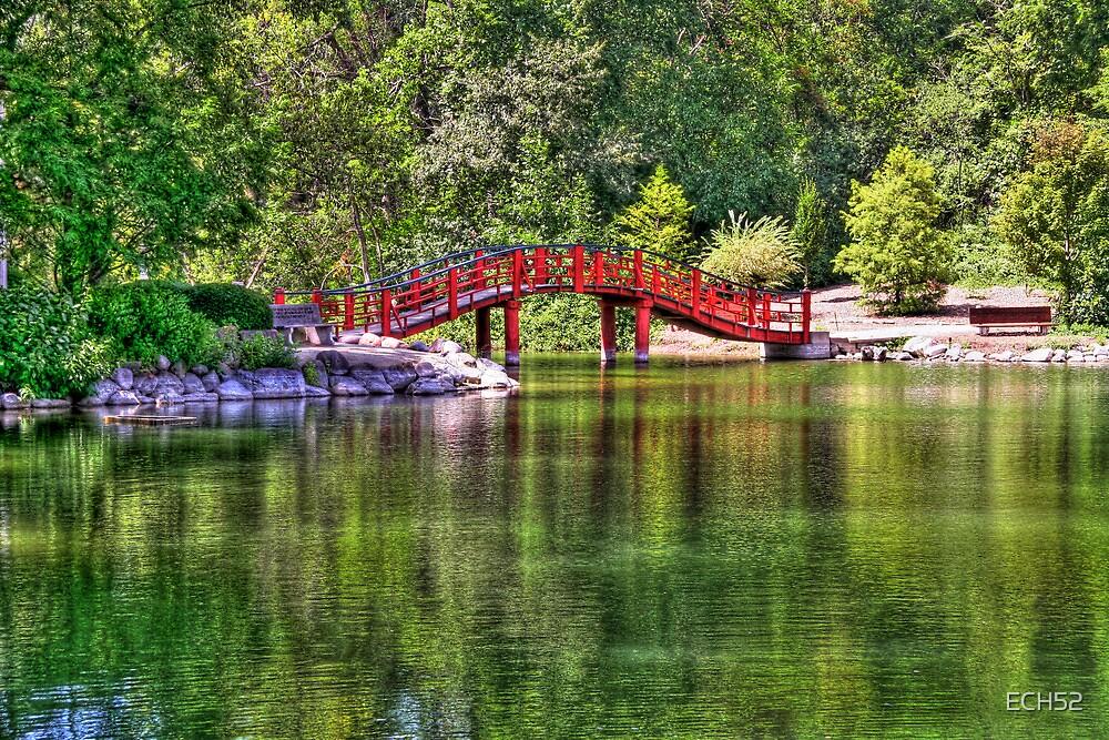 Pond Bridge (HDR) by ECH52