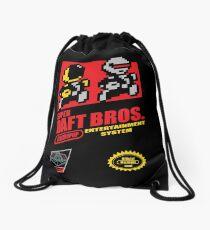 Super Daft Bros. Drawstring Bag