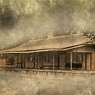 Bridgetown Railway Station, Western Australia by Elaine Teague