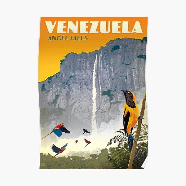 Old Venezuela, Tourism Poster Poster