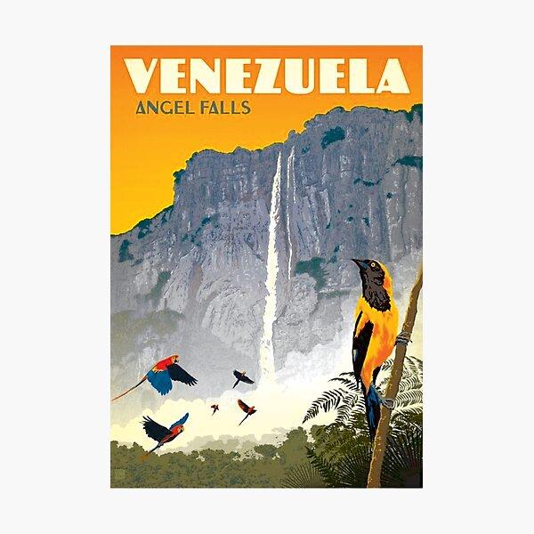 Old Venezuela, Tourism Poster Photographic Print