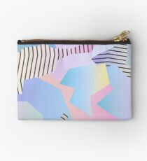 Abstract gradient 2 Zipper Pouch