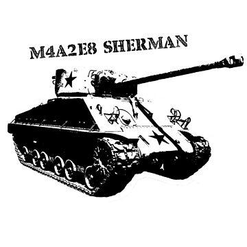 M4A2E8 Sherman Easy 8 by bobattackman