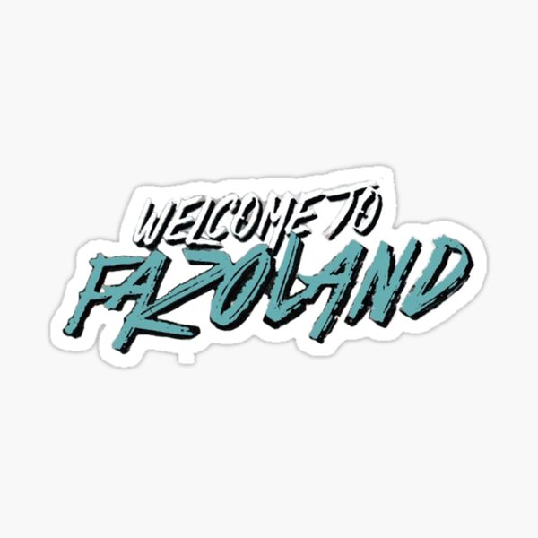 G Herbo - Welcome To Fazoland Art Sticker