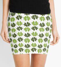 Shamrock Forest Pattern Mini Skirt