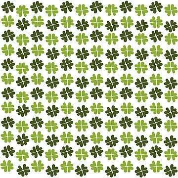Shamrock Forest Pattern by elledeegee
