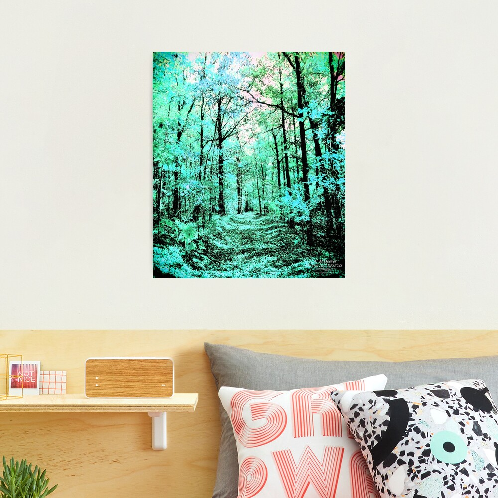 Spring Warms The Blue Photographic Print