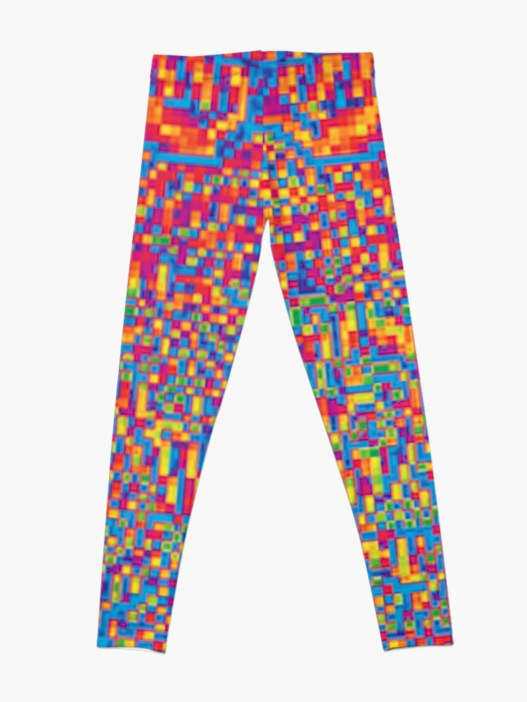 Alternate view of ^ ptical ⑦ by RootCat Leggings