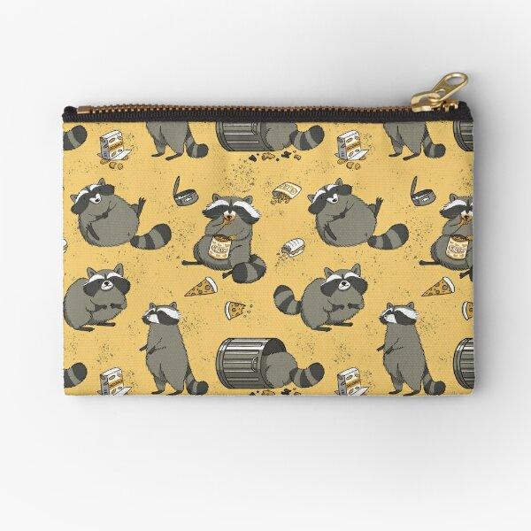Rascally Raccoons Zipper Pouch