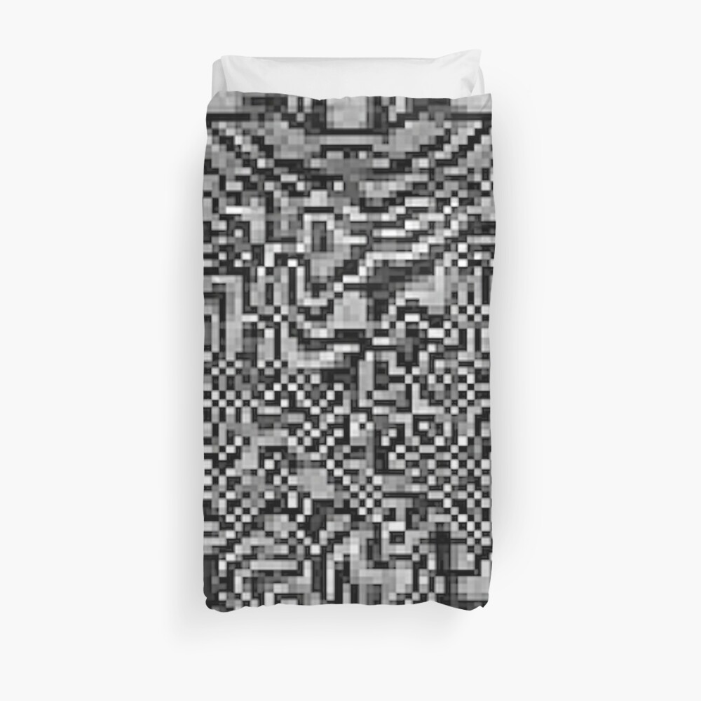 Optic ^ l ⑩ by RootCat Duvet Cover