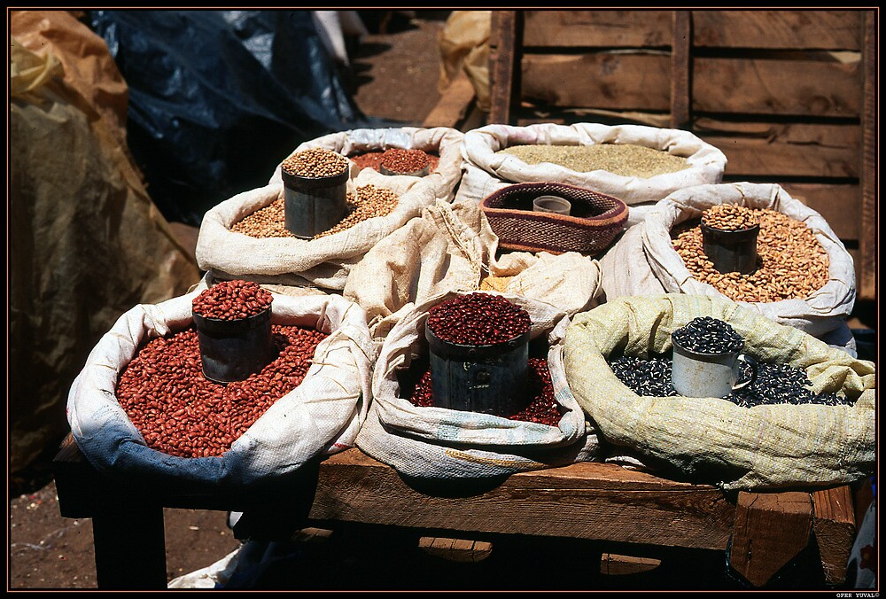 Beans at the  Market by ofer2000