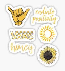 Yellow Sticker Pack Sticker