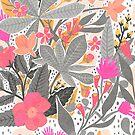 Böhmischer Garten, begrenzte Farbe von Jacqueline Hurd