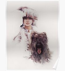 """""""Diana"""" Oil On Canvas Poster"""