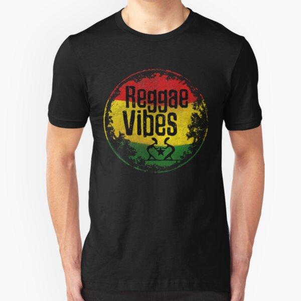 reggae vibes int. Slim Fit T-Shirt